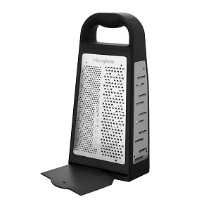 MICROPLANE/BOX GRATER-4 SIDED STAINLESS STEEL BLADES