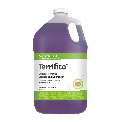 TERRIFICO-HARD SURFACE CLEANER AND DEGREASER GALLON USC