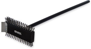 "OVEN/GRILL BRUSH STAINLESS  8.5"" W/30"" HANDLE"