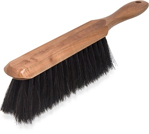 COUNTER TOP BENCH BRUSH WOOD HANDLE