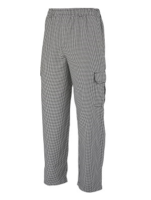 CARGO PANT HOUNDSTOOTH EXTRA LARGE