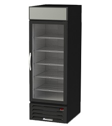 "MERCHANDISER-1 DOOR  27""WX33""D-BLACK EXTERIOR"