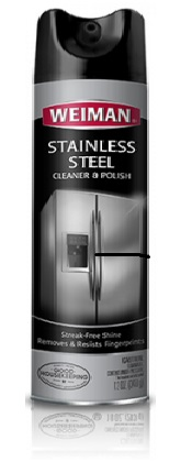 STAINLESS STEEL CLEANER &  POLISH-SPRAY