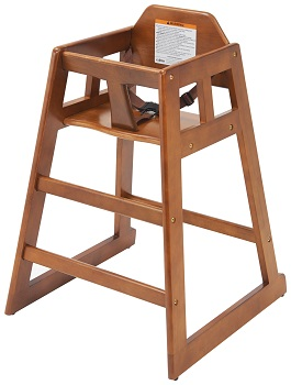STACKING HIGH-CHAIR WALNUT