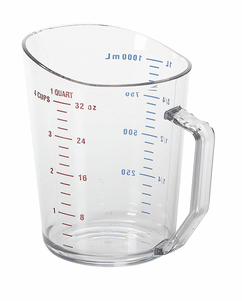MEASURING CUP 1 QT CLEAR
