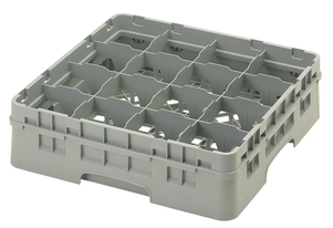 "16 COMPARTMENT CAMRACK 4 1/2"" GRAY"