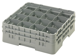 "16 COMPARTMENT CAMRACK 6 1/8"" GRAY"