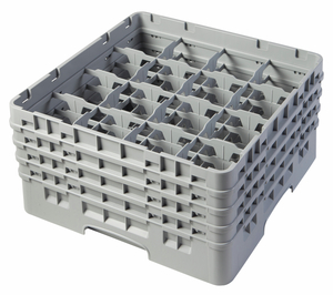 "16 COMPARTMENT CAMRACK 8 1/2"" GRAY"