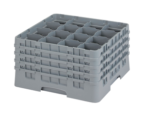 "16 COMPARTMENT CAMRACK 9 3/8"" GRAY"