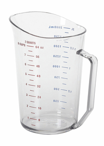 MEASURING CUP 2 QT CLEAR
