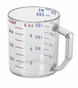 MEASURING CUP 1 CUP CLEAR