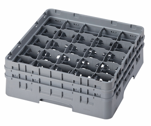 "25 COMPARTMENT CAMRACK 5 1/4"" GRAY"