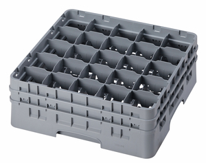 "25 COMPARTMENT CAMRACK 6 1/8"" GRAY"