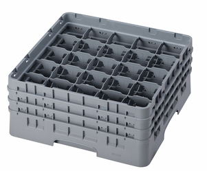 "25 COMPARTMENT CAMRACK 6 7/8"" GRAY"