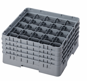 "25 COMPARTMENT CAMRACK 8 1/2"" GRAY"