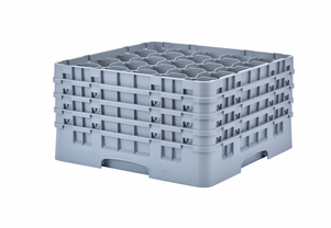"25 COMPARTMENT CAMRACK 9 3/8"" GRAY"