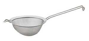 "STRAINER-4""-DOUBLE MESH STAINLESS STEEL"
