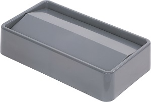 TRASH CAN LID SWING TOP 15/23 GALLON GRAY