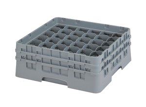 "36 COMPARTMENT CAMRACK 5 1/4"" GRAY"