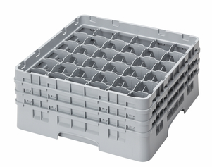 "36 COMPARTMENT CAMRACK 6 7/8"" GRAY"
