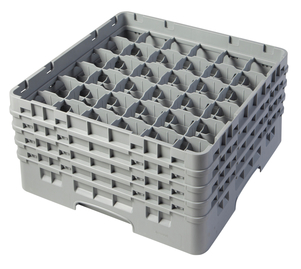 "36 COMPARTMENT CAMRACK 8 1/2"" GRAY"