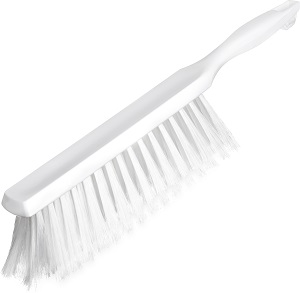 "COUNTER TOP BRUSH 8"" WHITE BRISTOL"