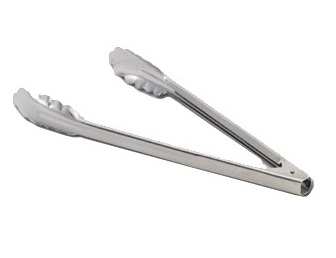 "UTILITY TONG- 7"" STAINLESS  STEEL"