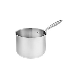 SAUCE PAN-STAINLESS  3.5 QT