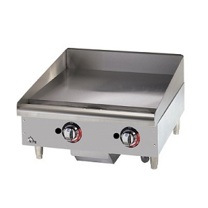 "GRIDDLE-STAR MAX 24"" NATURAL  GAS-MODULATING THERMAL CONTROL"