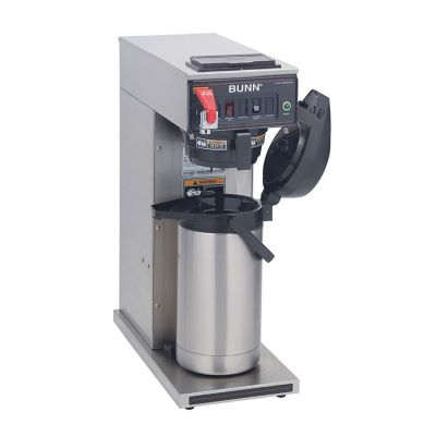 AIRPOT COFFEE BREWER,  AUTOMATIC W/ POUROVER FEATURE
