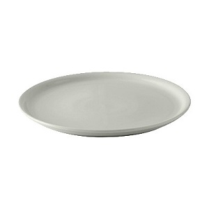 "PIZZA PLATE-13-1/8"" ROUND  WHITE"