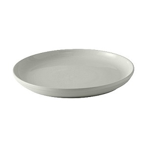 "PIZZA/SERVING PLATE-13-1/8""  ROUND-WHITE"