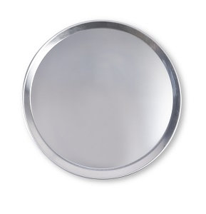 "PIZZA PAN- 8"" COUPE 18G ALUMINUM"