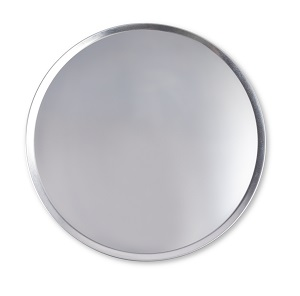 "PIZZA PAN-16"" COUPE 18G  ALUMINUM"