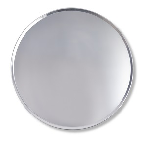 "PIZZA PAN-18"" COUPE 18G ALUMINUM"