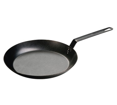 "SKILLET-CARBON STEEL-12"" OVEN SAFE - HAND WASH ONLY"