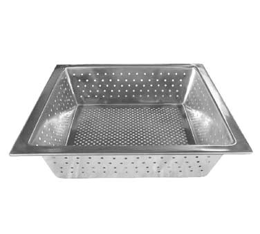 FLOOR SINK BASKET-10X10X2-1/2 STAINLESS STEEL