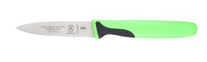 "PARING KNIFE 3"" GREEN HANDLE"