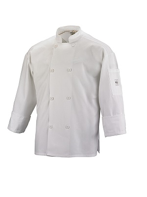 CHEFS JACKET WHITE SMALL LONG SLEEVE