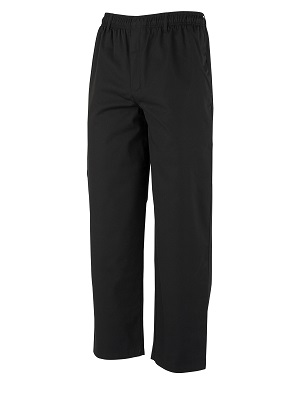 COOK PANT BLACK EXTRA LARGE