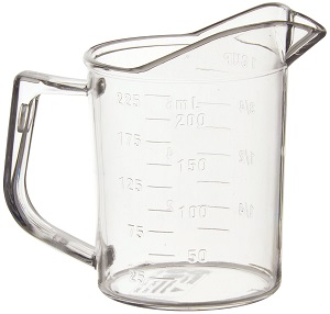 MEASURING CUP  1 CUP  POLYCARBONATE