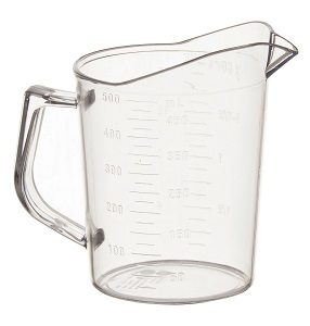MEASURING CUP  1 PINT  POLYCARBONATE