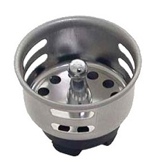 BAR SINK DRAIN STRAINER-1-1/2""