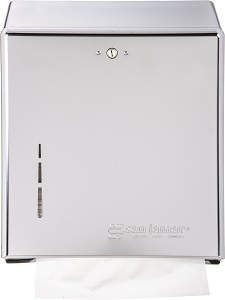 C FOLD/MULTI-FOLD TOWEL  DISPENSER-20G STEEL