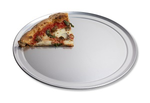 "PIZZA PAN-14"" WIDE RIM 18G  ALUMINUM"